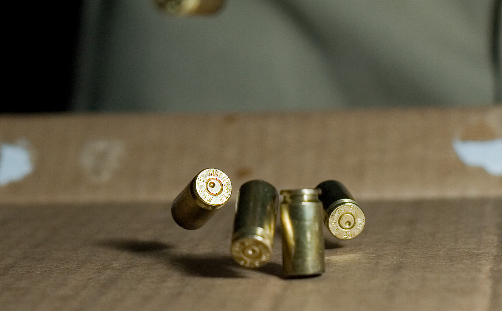 photo of falling bullets