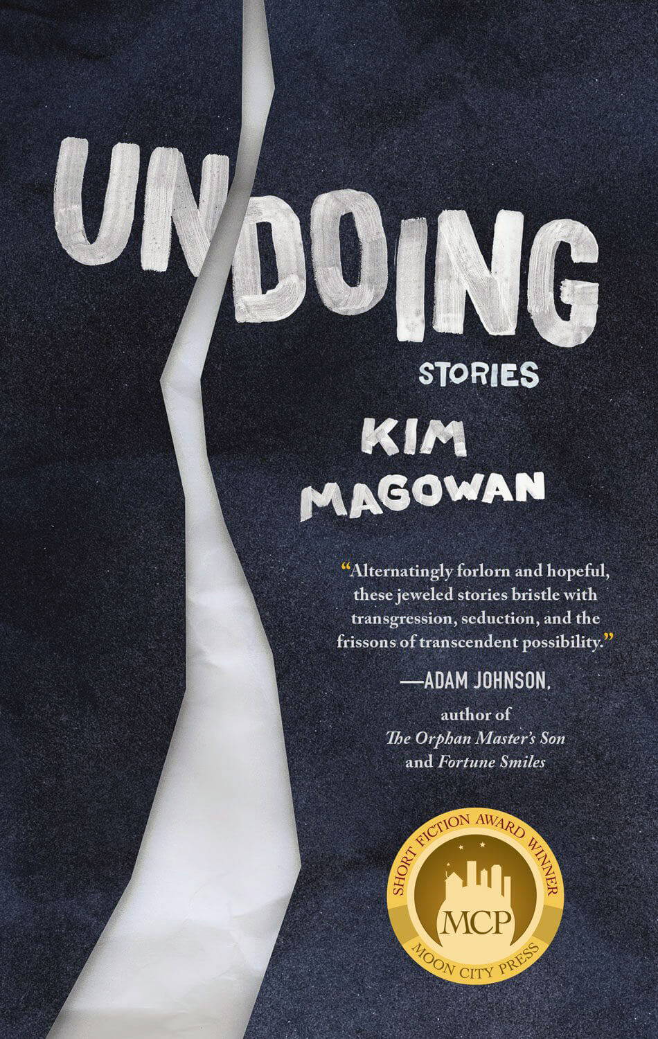 "book cover for ""Undoing"" by author Kim Magowan"